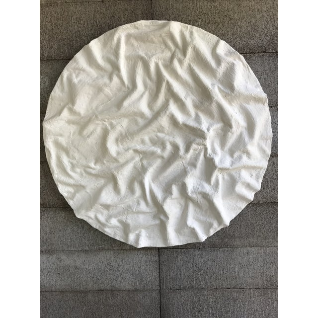 White Minimalist Plaster Painting by Tony Fahden For Sale - Image 8 of 9