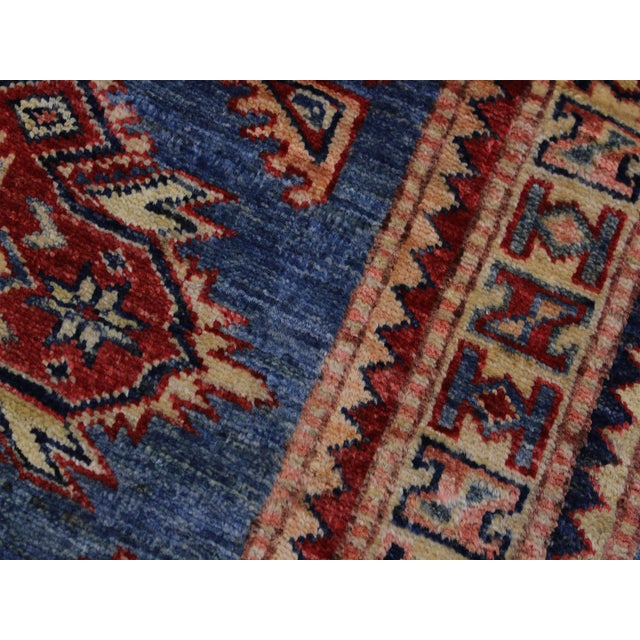 Slyvia Hand-Knotted Wool Rug - 2′7″ × 6′4″ For Sale In New York - Image 6 of 8