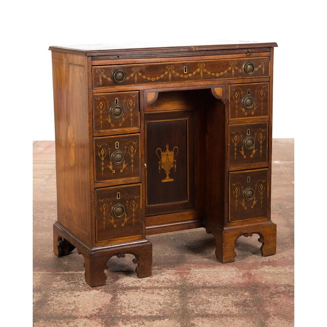 18th-Century Petite Georgian Inlaid Desk - Image 3 of 10