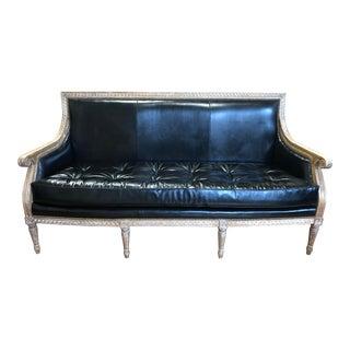 Oly Studio Hanna Leather Sofa For Sale