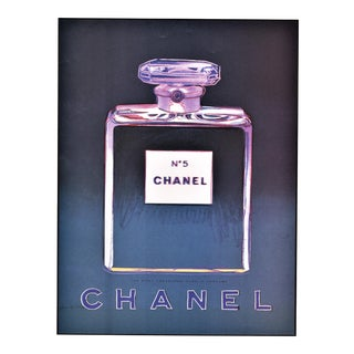 Matted Vintage Chanel No. 5 Perfume Print - Andy Warhol For Sale