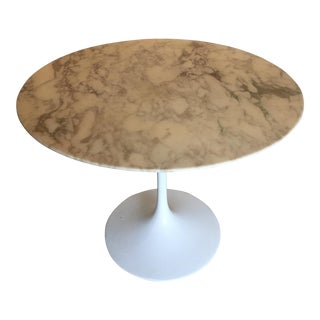 Knoll Saarinen Marble Top Tulip Table