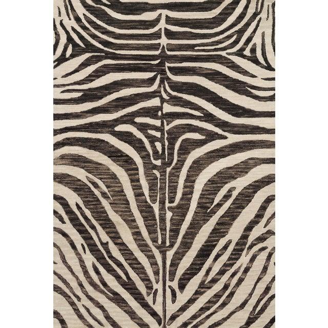 "Loloi Rugs Loloi Rugs Masai Rug, Java / Ivory - 2'6""x7'6"" For Sale - Image 4 of 4"