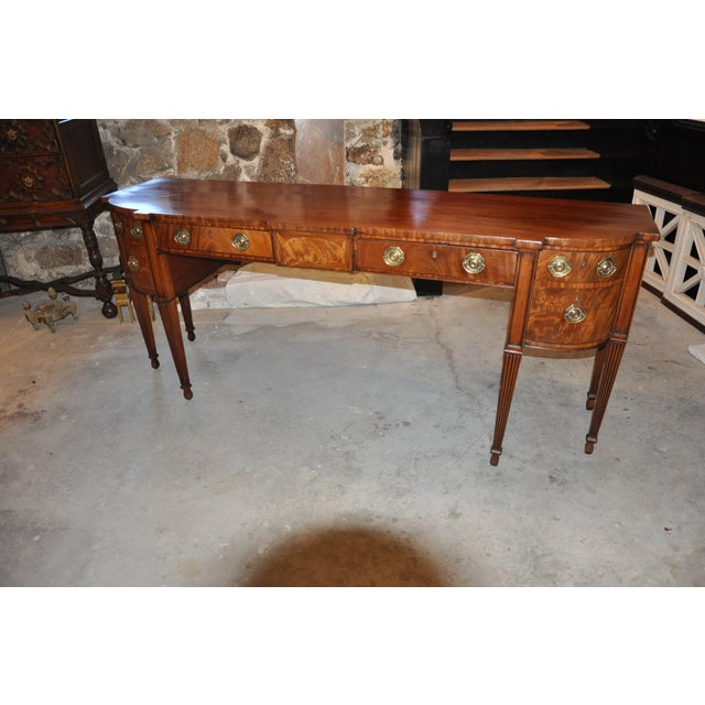Early 19th C. Georgian Mahogany Sideboard For Sale - Image 4 of 8