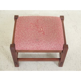Stickley Mission Style Cherry Ottoman or Footstool Preview