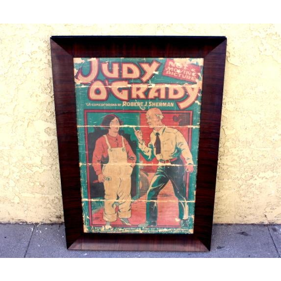 1920s Judy O'Grady Playbill Sign For Sale - Image 5 of 5