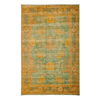 "Arts & Crafts Hand Knotted Area Rug - 5'0"" X 7'10"""