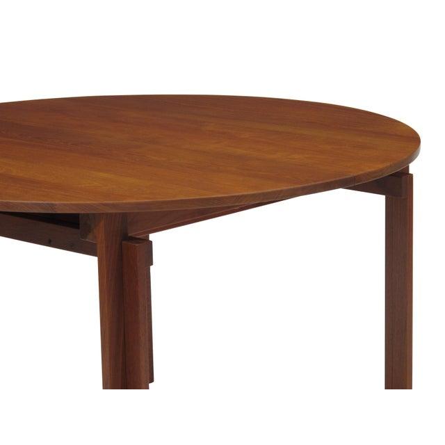 Excellent Peter Hvidt Solid Teak Danish Dining Table DECASO - Solid teak dining table for sale