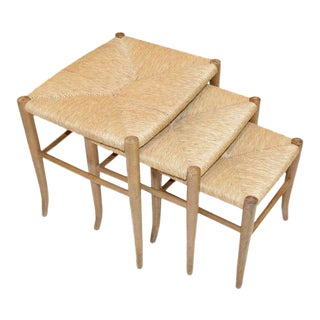 Italian Nesting Stools - Set of 3 For Sale