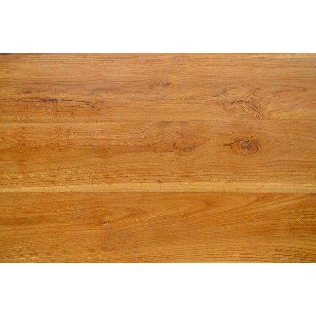 George Nakashima Style Conoid Dining table For Sale - Image 9 of 10
