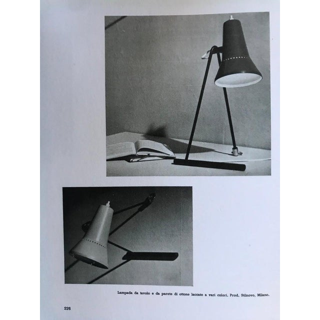 Mid-Century Modern 1950s Stilnovo Wall or Table Lamp For Sale - Image 3 of 13