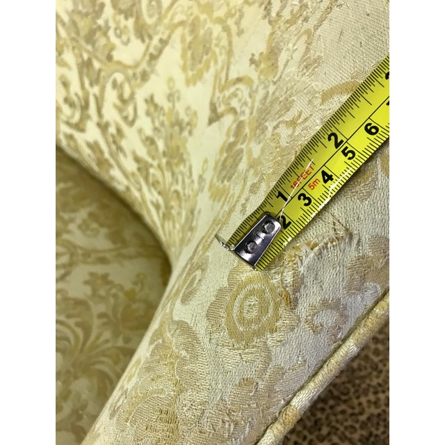 Vintage Neoclassical Settee With Nailhead Detail - Image 4 of 11