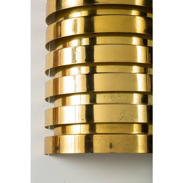 Pair of Hans Agne Jakobsson Brass Sconces For Sale - Image 5 of 6