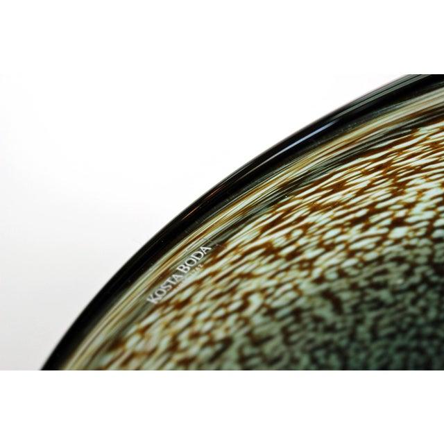 Bertil Vallien Kosta Boda Meteor Bowl For Sale - Image 5 of 7