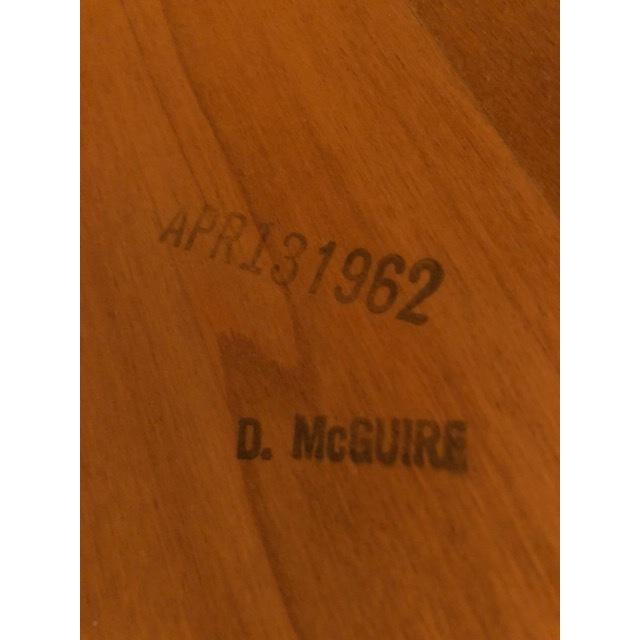D.Mcguire Mid-Century Walnut Coffee Table For Sale In New York - Image 6 of 8