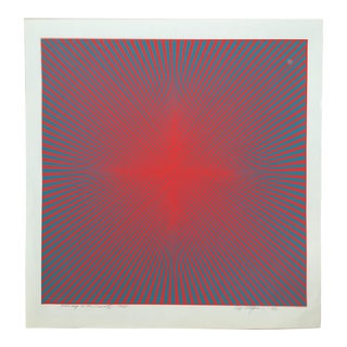 """Roy Ahlgren Limited Edition Print """"Homage to the Cross Iii"""""""