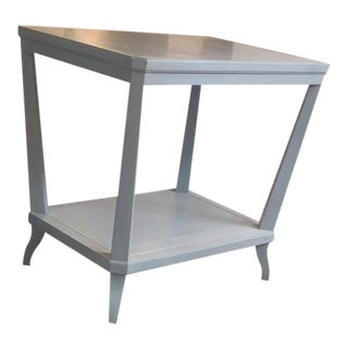 Hickory Chair Rye Rectangular Side Table Showroom Sample