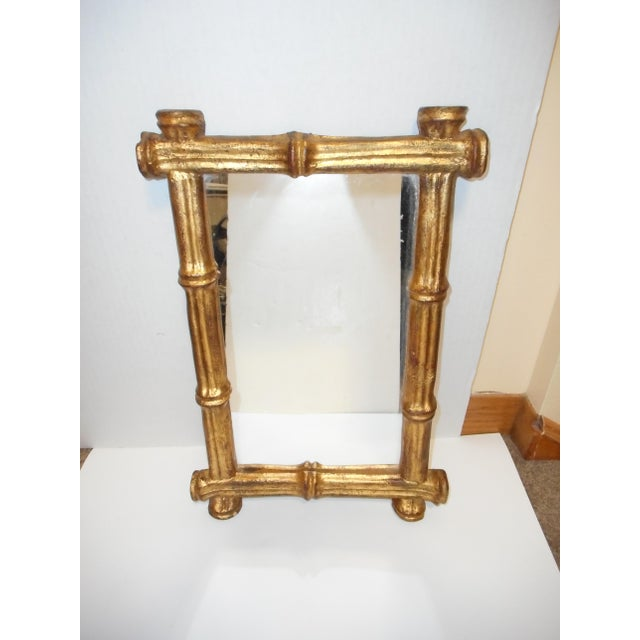 Florentia French Regency Faux Bamboo Mirror - Image 2 of 6
