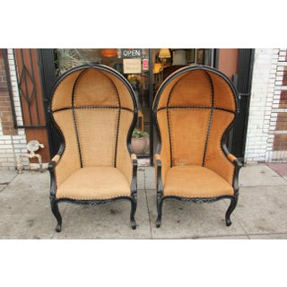 Vintage French Canopy Chairs - a Pair Preview