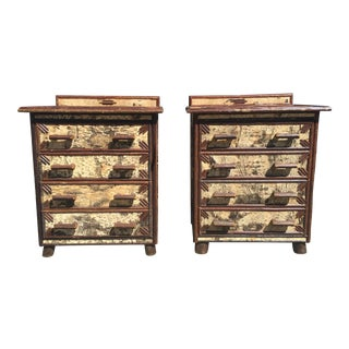 Rustic Western Dressers Cabin - a Pair For Sale
