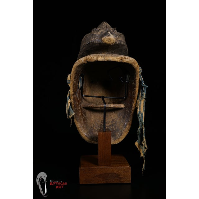 Baule African Tribal Portrait Mask - Image 6 of 10