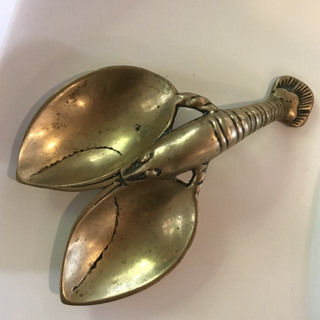 Vintage Brass Lobster - Image 2 of 7