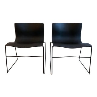Vintage Knoll Massimo Vignelli Handkerchief Chairs, a Pair For Sale