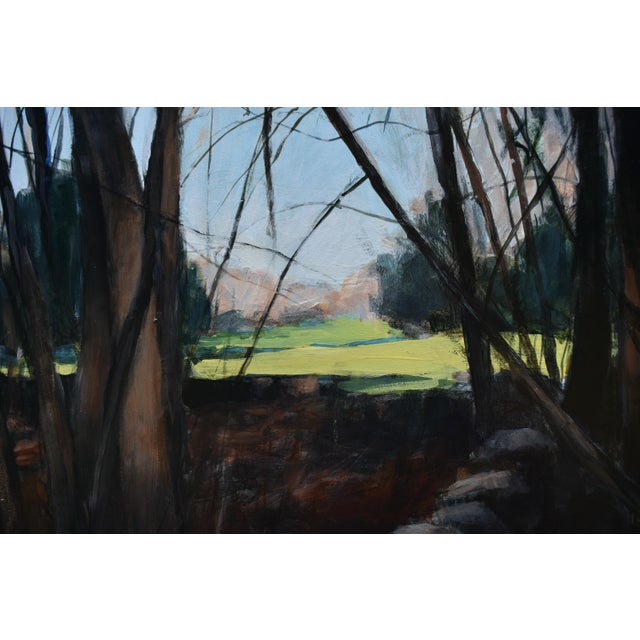 """2010s Stephen Remick """"Spring Fields"""" Contemporary Painting For Sale - Image 5 of 11"""