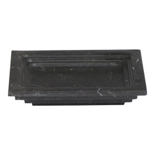 Ashtray in Black Marble by Michele Chiossi, Made in Italy For Sale