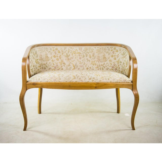 I love this complete set for the intricate design work in the tapestry upholstery creating elegance in addition to the...