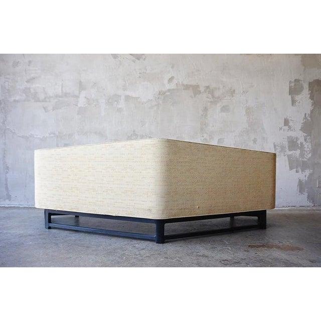 Mahogany Edward Wormley for Dunbar 'Janus' Sofa For Sale - Image 7 of 9