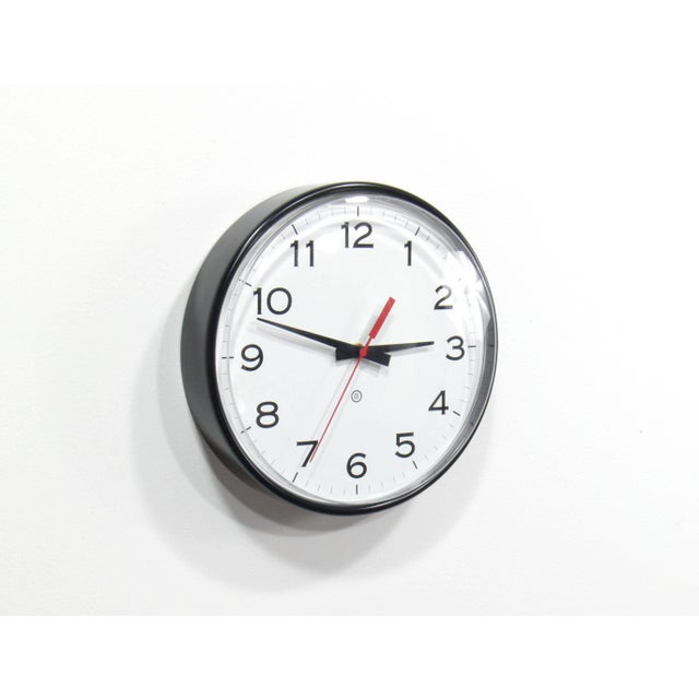 Industrial Vintage Industrial Modern Peter Pepper Products Wall Clock For Sale - Image 3 of 5