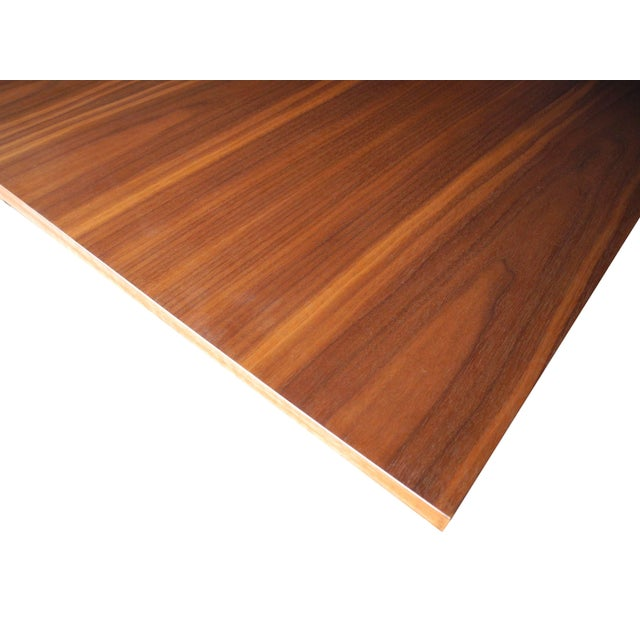 Herman Miller George Nelson for Herman Miller Modern Walnut Square Dining Table For Sale - Image 4 of 8