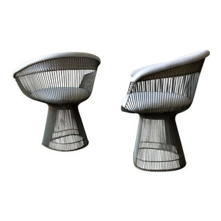 Pair of Warren Platner for Knoll Armchairs, Ca. 1970 For Sale