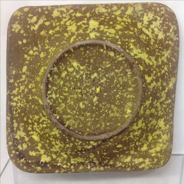 Mid-Century Modern Gamboni Style Fish Design Ceramic Tray For Sale - Image 3 of 4