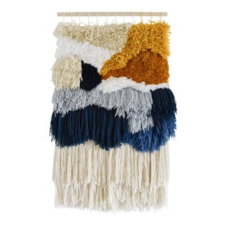 Large Abstract Macrame Wall Hanging Art For Sale
