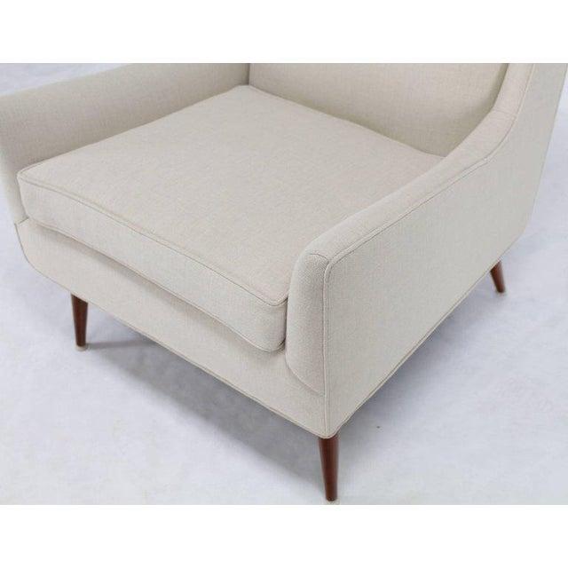 McCobb High Dowel Leg Lounge Chair For Sale - Image 4 of 10