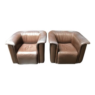 Barrett Club Chairs for Stendig For Sale