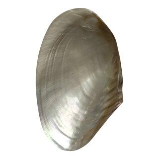 Vintage Capiz Shells Decorative Dish For Sale