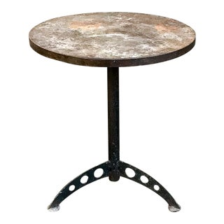 French Turn of the Century Café Table For Sale