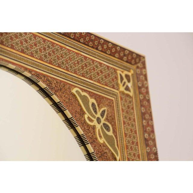 Glass Middle Eastern Moorish-Style Sadeli Mosaic Mirror For Sale - Image 7 of 13