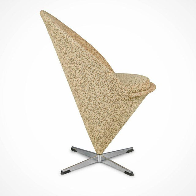 Verner Panton Verner Panton Cone Chair, Denmark, Circa 1960 For Sale - Image 4 of 8