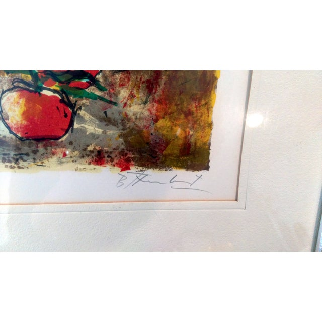 Still Life Lithograph by Bertoldo Taubert For Sale - Image 4 of 10