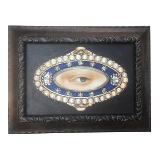 Lover's Eye Broach Oil Painting