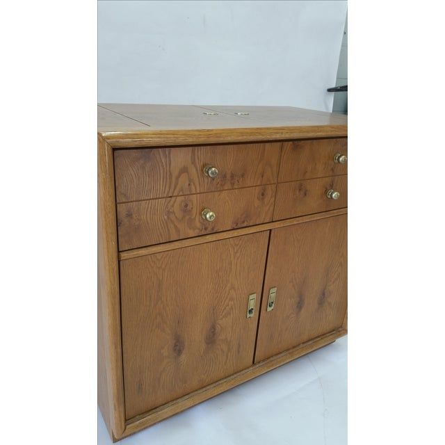 Stanley Mid-Century Rolling Bar - Image 6 of 7