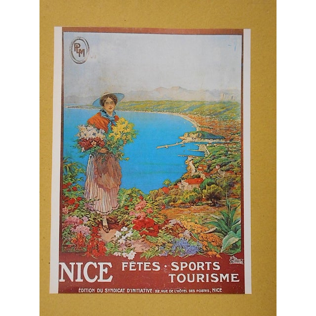 Vintage Poster from Nice, France Circa 1973 - Image 2 of 4
