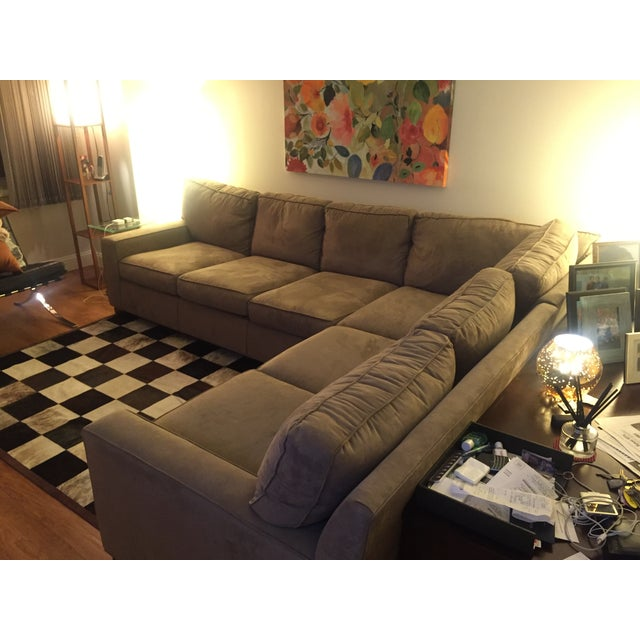Mitchell Gold + Bob Williams Mitchell Gold + Bob Williams Sectional Sofa For Sale - Image 4 of 10