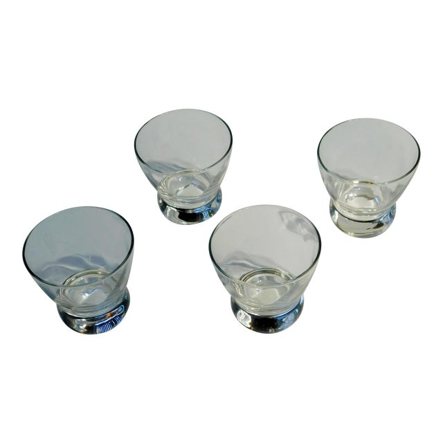 Short Aperitif Glasses - Set of 4 For Sale