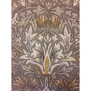 William Morris Snakeshead Linen Fabric For Sale