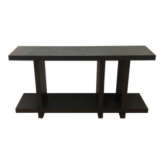 Contemporary Desiron Designed Wood Side Table